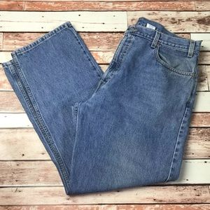 Levis Mens Size 40x30 505 Straight Leg Jeans